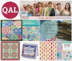 Find the inspiration to start AND finish a quilt—join a quilt-along! Get a quick look at the latest quilt-alongs being hosted by Martingale authors.