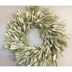Integrifolia Wreaths now available in two sizes! Brand new for your fall decorating, order now! DriedDecor.com #homedecor #driedflowers #falldecor #weddinginspiration #farmhouse #vintagedecor #driedflowersdecorations
