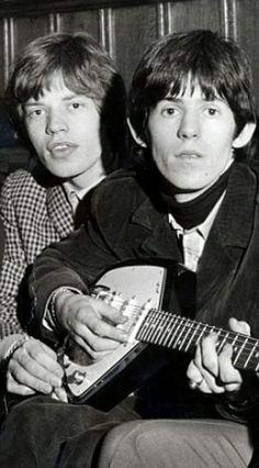 Mick Jagger & Keith Richards