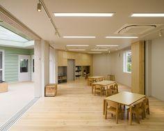 Hakemiya Nursery School / rhythmdesign + CASE-REAL
