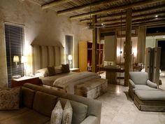 Inside your private villa, Kapama Karula