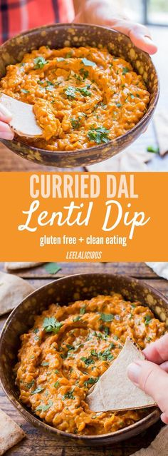 This flavorful Red Lentil Dip is a wonderful appetizer version of Indian Dal dishes. Great for dipping flat bread triangles or veggie sticks.
