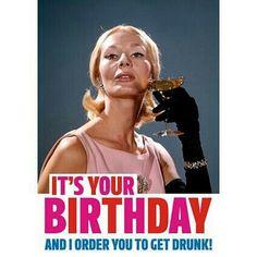 Birthday humor