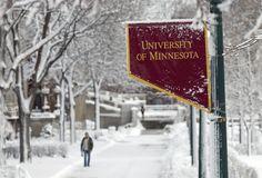 Winter on campus. #UMN #UMNcampus