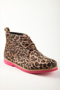 Cotton On Kids Footwear edition sole # animal print boots shoes Kid Shoes, Girls Shoes, Desert Boots, Cheap Shoes, Little People, Shoe Game, I Dress, Dapper, My Girl