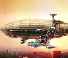 "HowStuffWorks ""Steampunk Blimps: Airships that Will Take You Back to the Future"""