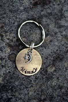 Moon Star 7/8 Small Pet ID Tag by FetchAPassionTags on Etsy, $8.00