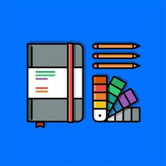 Design 📒✏ by @almigor ・・・ ______ #design #illustration #draw #sketch #dribbble #colorful #colorpalette #palettes #vector #pen #minimal #pencil #art #icon #linework #pirategraphic #graphicroozane #creative #line #inspiration #materialdesign #pencildrawing #logo #concept #vector #iconaday #iconic #drawingbook #sketchbook