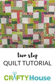 She Cuts 5″ Squares And Gets A Quilt That Can Be Finished In A Day!