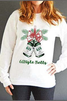 5f7cc5ce67 $36.96 Gingle Bells Christmas Jumper, Gin Sweatshirt, Gin, Xmas Jumper,  Unisex Christmas Jumper, Womens Christmas Jumper, Mens Christmas Jumper  #oybpinners ...
