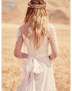 Beautiful boho bridal braids by free people