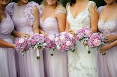 Enchanting Weddings. Like this color, purple is my favortie