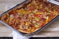 Pizza al estilo fajita