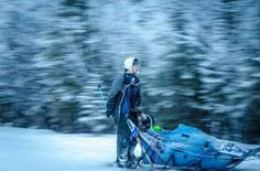 BIRCH LEAF PHOTOGRAPHY/BIRCHLEAFPHOTOGRAPHY.COM    Former Topeka resident Nicholas Guy guides his sled dogs on the Copper Basin 300 trail, b...