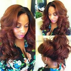 Fabulous sew in weave by Gloria Kelly out of Florida. Book at soap hair styles Love Hair, Gorgeous Hair, Sew In Weave, Full Weave, Straight Weave, Sew In Hairstyles, Baddie Hairstyles, Protective Hairstyles, Natural Hair Styles