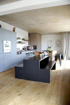 loft in graz - Möbelbau Breitenthaler, Tischlerei Loft, My Room, Table, Furniture, Home Decor, Graz, Carpentry, Homes, Decoration Home