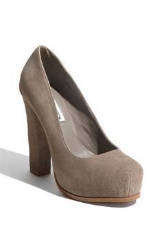 Steve Madden pumps. Can't decide which color I like best.