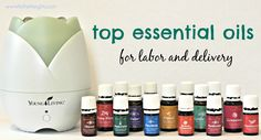 This post details the how and why of the top essential oils for labor delivery. Learn about the must-have oils when it comes time to have your little one!