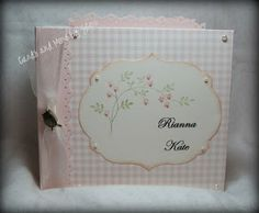 Cards and More by Sheri: Baby Girl Mini Albums