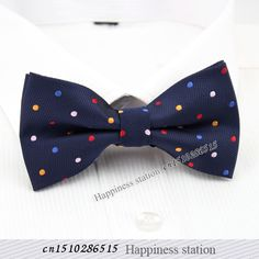 Brand: Happiness Station @tie bow tie URL: http://www.aliexpress.com/item/High-end-fashion-men-bow-ties-Performing-party-wedding-dress-bow-tie-Rainbow-color-dots/1918143419.html