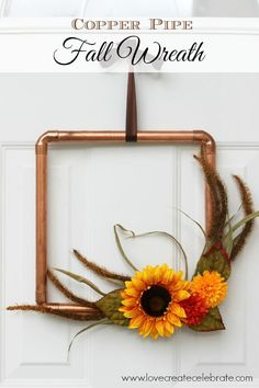 DIY Copper Pipe Fall