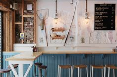 a concept so simple and beautiful // The Fish Shop - Sibella Court