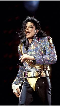 Michael on The Dangerous Tour. The tour ran from June 27, 1992, to November 11, 1993.