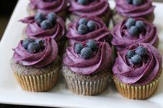 Blueberry on blueberry
