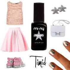 Good morning Girls!  Che ne dite di un tocco di polvere STARDUST sulle vostre nails? http://www.minycosmetics.com/colori.php?idcategoria=4  #nails #nailpolish #naillacquer #star #Stardust #cool #girls #fashion #style #miny #minycosmetics
