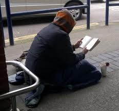 Homeless people read too  Support the Footpath Library