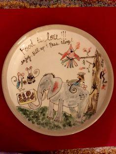 Lovely pass along ceramic plate!!!