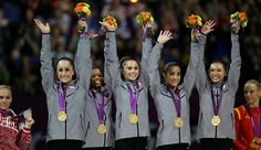 The Fab Five:  U.S. Women's Gymnastics Team Wins Gold (by a landslide!) At 2012 London Olympics