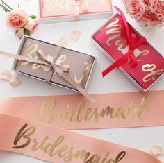 ♥ CHOOSE YOUR OWN WORDING ♥  ♥ These sashes are perfect for your hens, bachelorette parties, bridal showers and birthday parties. ♥ Available in 14 colours ♥ Beautifully printed on 75mm width grosgrain ribbon, in the choice of three print colours; white, gold and black ♥ Includes exclusive Le Rose gold pin that allows for the sash to be secured and the size to be adjusted ♥ Arrives beautifully packaged with matching ribbon colour  ♥ ♥ ♥ HOW TO ORDER ♥ ♥ ♥ 1. Select the quantity required 2…