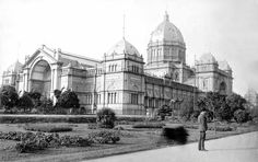 Royal Exhibition Buildings on Exhibition St,Melbourne in Melbourne Victoria, Victoria Australia, Exhibition Building, Historic Houses, Historical Photos, Family History, Old Photos, Past, Buildings