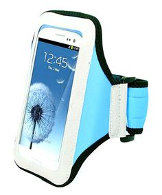 Take a look at this Light Blue Sport Armband by Atomic9 on #zulily today!