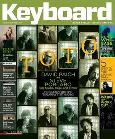 Keyboard Magazine - August 2015, Magazine, Keyboard Magazine, Keyboard, August 2015, August, 2015, Magesy.be