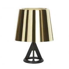 Shop for Base Polished Brass Table Lamp by Tom Dixon at ShopStyle. Tom Dixon, Tripod Lamp, Desk Lamp, Cadeau Design, Modern Lighting Design, Black Table Lamps, Deco Design, Light Table, Messing