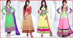 Get Flat 15% Off  Hi viewers here we like to share with you another gorgeous #collection of Shilpa Shetty Ankle Length Ethnic #Anarkali #Suits  Which one you like the most.... ?  Check out here for more collection http://www.shoppers99.com/all_sales/shilpa_shetty_designer_anarkali_suits