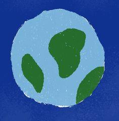 Tertiaire kleuren blauw en groen