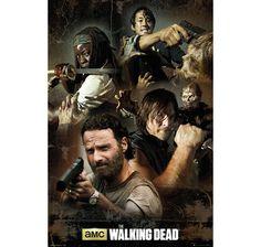 The Walking Dead Poster Collage. Hier bei www.closeup.de