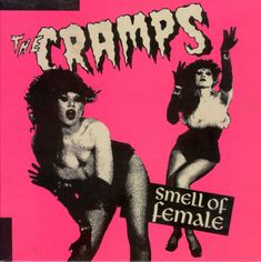 ok so more a poster than a cover, but it's so nice I couldn't resist. And anyway, it's The Cramps.