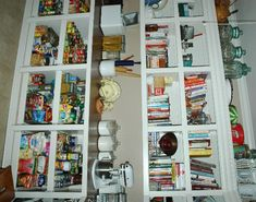 Love the counter in the pantry and the pull out shelves on the bottom.