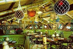 Busted the limit on 'Fogcutter' drinks at Trader Vics in the Plaza Hotel, New York.   The fabulous Trader Vic's, New York