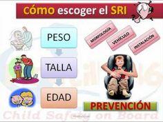 """Cómo escoger la Silla de Coche - Consejo 6  Campaña de Seguridad Vial """"Un minuto...Una vida"""""""