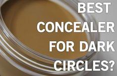 How to Remove Under Eye Dark Circles Using Concealer  #stepbystep