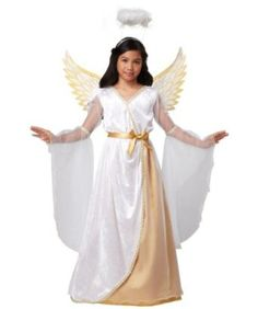 guardian angel girls costume - Pageant Girl Halloween Costume