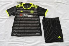 16/17 Chelsea away kids kit. HAZARD DIEGO COSTA soccer jersey
