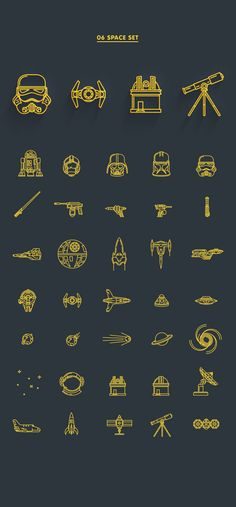 Free Download : 8 Line Icon Sets