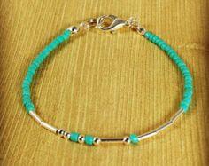 Custom Made Morse Code Bracelet by MorseBeadsPlease on Etsy