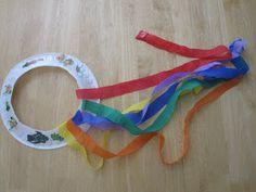 Toddler Approved!: Paper Plate Rainbow Shakers